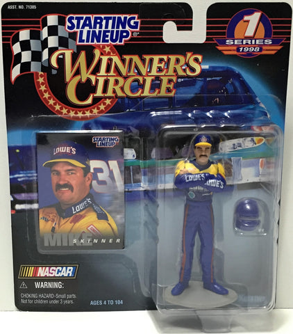 (TAS034805) - 1998 Hasbro Starting Lineup Figure - Winner's Circle Mike Skinner, , Action Figure, Starting Lineup, The Angry Spider Vintage Toys & Collectibles Store  - 1