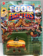 TAS038076 - 1988 Mattel Food Fighters - Mean Weener