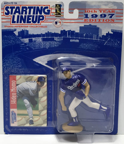 (TAS034808) - 1997 Hasbro Starting Lineup Figure - MLB Baseball Hideo Nomo, , Action Figure, Starting Lineup, The Angry Spider Vintage Toys & Collectibles Store  - 1