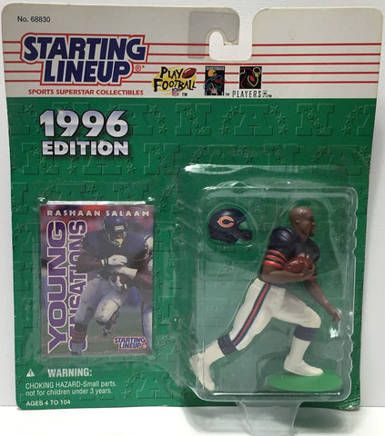(TAS034810) - 1996 Hasbro Starting Lineup Figure - NFL Football Rashaan Salaam, , Action Figure, Starting Lineup, The Angry Spider Vintage Toys & Collectibles Store  - 1