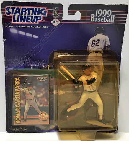 (TAS034811) - 1999 Hasbro Starting Lineup Figure MLB Baseball Nomar Garciaparra, , Action Figure, Starting Lineup, The Angry Spider Vintage Toys & Collectibles Store  - 1