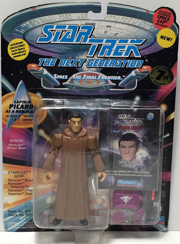 (TAS034814) - 1994 Playmates Star Trek The Next Generation Figure Captain Picard, , Action Figure, Star Trek, The Angry Spider Vintage Toys & Collectibles Store  - 1
