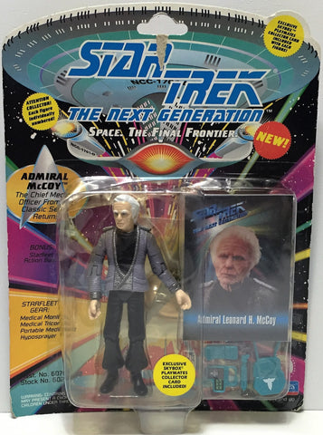 (TAS034819) - 1993 Playmates Star Trek The Next Generation Figure Admiral McCoy, , Action Figure, Star Trek, The Angry Spider Vintage Toys & Collectibles Store  - 1
