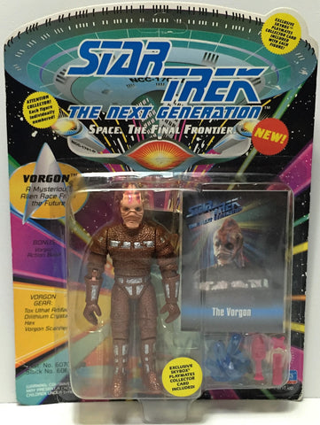 (TAS034818) - 1993 Playmates Star Trek The Next Generation Figure - Vorgon, , Action Figure, Star Trek, The Angry Spider Vintage Toys & Collectibles Store  - 1
