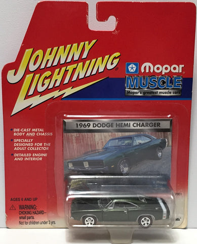 (TAS034816) - Playing Mantis Johnny Lightning Muscle Car -'69 Dodge Hemi Charger, , Trucks & Cars, Johnny Lightning, The Angry Spider Vintage Toys & Collectibles Store  - 1
