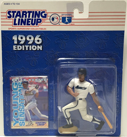 (TAS034822) - 1996 Hasbro Starting Lineup Figure - MLB Baseball Brian Hunter, , Action Figure, Starting Lineup, The Angry Spider Vintage Toys & Collectibles Store  - 1