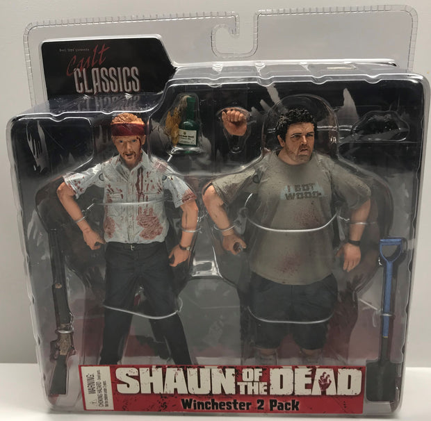 TAS038092 - 2004 Reel Toys Neca Shaun Of The Dead Winchester 2 Pack