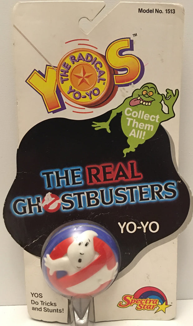 (TAS032904) - 1988 Spectra Star The Radical Yo-Yo - The Real Ghostbusters Yo-Yo, , Yo-Yo, Spectra Star, The Angry Spider Vintage Toys & Collectibles Store  - 1