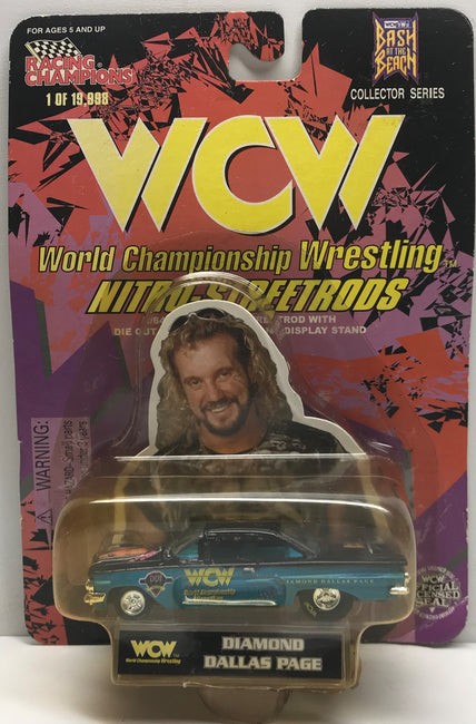TAS038096 - 1998 Racing Champions WCW Die-Cast Nitro-Streetrods - Diamond Dallas