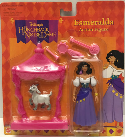 (TAS032907) - Mattel Disney's The Hunchback Of Notre Dame Figure - Esmeralda, , Action Figure, Disney, The Angry Spider Vintage Toys & Collectibles Store  - 1