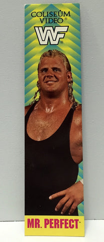 (TAS034516) - 1993 Titan Sports Coliseum Video WWF Bookmark - Mr. Perfect, , Books, Ti, The Angry Spider Vintage Toys & Collectibles Store  - 1