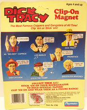 (TAS032918) - 1990 Playmates Disney Dick Tracy Clip-On Magnet - Pruneface, , Magnet, Disney, The Angry Spider Vintage Toys & Collectibles Store  - 2