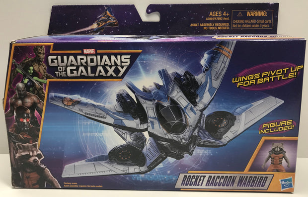 TAS038118 - 2013 Hasbro Guardians Of The Galaxy Rocket Raccoon Warbird