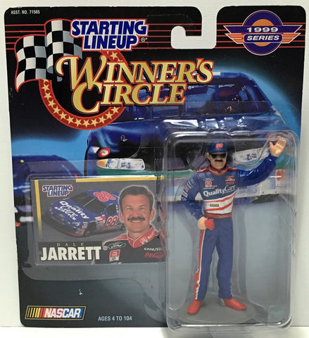(TAS034525) - 1990 Hasbro Starting Lineup Figure - Winner's Circle Dale Jarrett, , Action Figure, NASCAR, The Angry Spider Vintage Toys & Collectibles Store  - 1