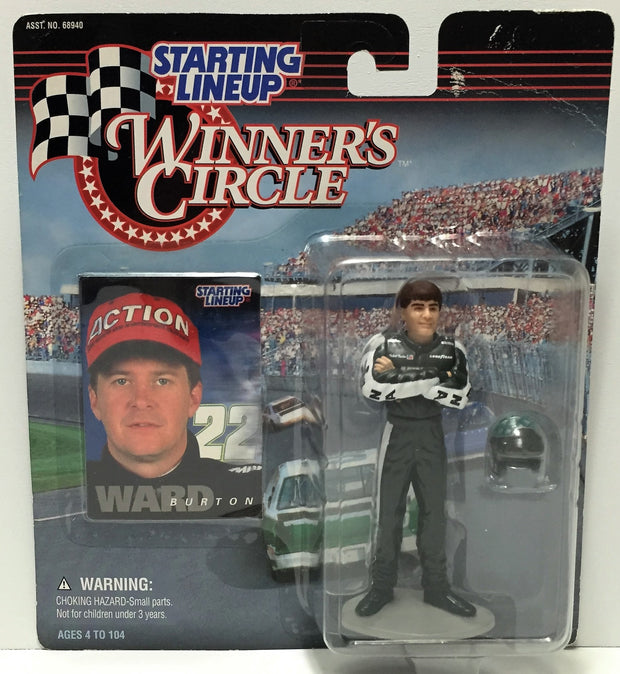 (TAS034528) - 1997 Hasbro Starting Lineup Figure - Winner's Circle Ward Burton, , Action Figure, NASCAR, The Angry Spider Vintage Toys & Collectibles Store  - 1