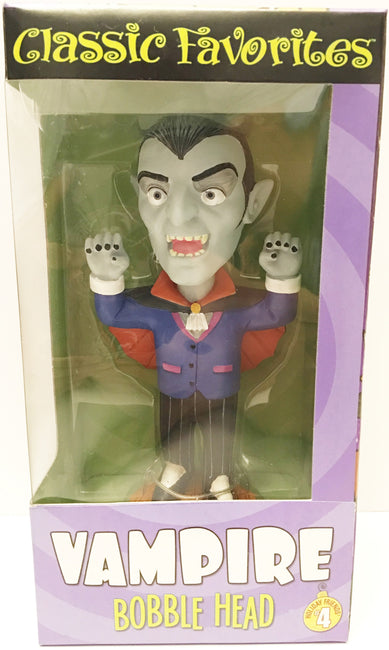 (TAS032929) - Classic Favorites Holiday Friends Bobble Head - Vampire #4, , Bobblehead, n/a, The Angry Spider Vintage Toys & Collectibles Store  - 1