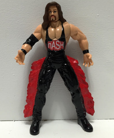 (TAS034532) - 1998 Toy Biz WCW Wrestling Steel Slammers - Used Kevin Nash, , Action Figure, Toy Biz, The Angry Spider Vintage Toys & Collectibles Store  - 1