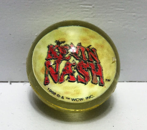 (TAS034534) - 1998 WCW WWE WWF Wrestling Mini Bouncy Ball - Kevin Nash nWo, , Balls, Wrestling, The Angry Spider Vintage Toys & Collectibles Store  - 1