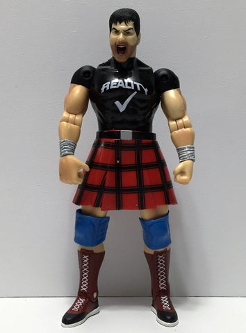 "(TAS034543) - 2000 WWE WWF Toy Biz Figure - Rowdy Roddy Piper ""Hot Rod"", , Action Figure, Wrestling, The Angry Spider Vintage Toys & Collectibles Store  - 1"