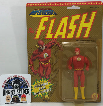 TAS040363 - 1990 Toy Biz DC Comics Super Heroes Action Figure - Flash