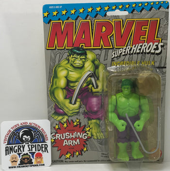 TAS040365 - 1993 Toy Biz Marvel Super Heroes Action Figure - Incredible Hulk