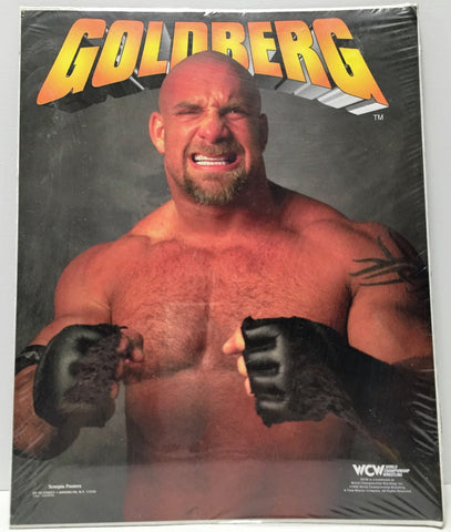 (TAS034546) - 1998 Vintage WCW WWF WWE Wrestling Scorpio Posters - Goldberg, , Other, Wrestling, The Angry Spider Vintage Toys & Collectibles Store  - 1