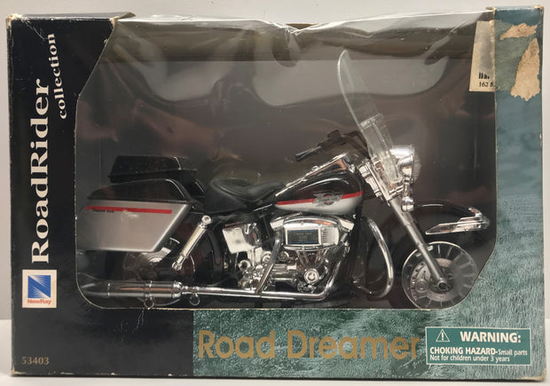 TAS038154 - 1999 New-Ray Toys 1/10 Road Dreamer Motorcycle