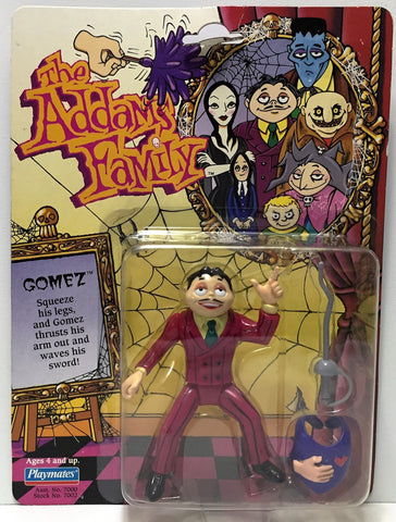 (TAS034550) - 1992 Playmates Vintage The Addams Family Action Figure - Gomez, , Action Figure, Playmates, The Angry Spider Vintage Toys & Collectibles Store  - 1