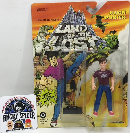 TAS040367 - 1992 Tiger Toys Land Of The Lost Action Figure - Kevin Porter