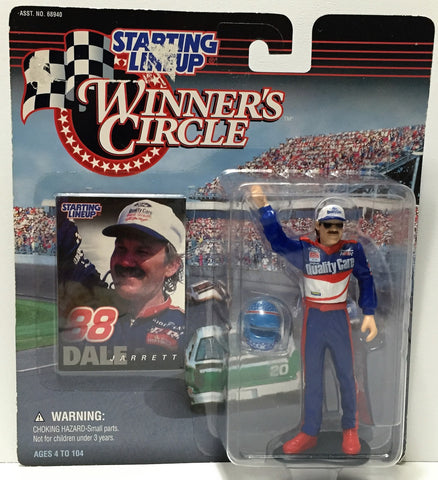 (TAS034548) - 1997 Hasbro Starting Lineup Figure - Winner's Circle Dale Jarrett, , Action Figure, NASCAR, The Angry Spider Vintage Toys & Collectibles Store  - 1