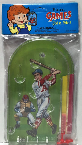 (TAS034551) - MLB Fun' N Games Baseball Pinball Game - California Angels, , Game, MLB, The Angry Spider Vintage Toys & Collectibles Store  - 1