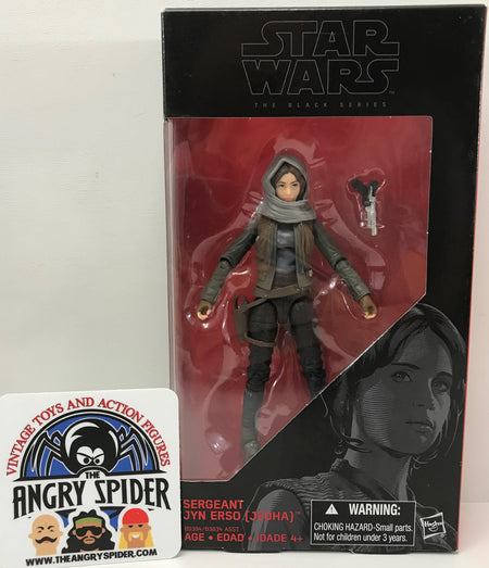 TAS040371 - 2016 Hasbro Star Wars The Black Series - Sergeant Jyn Erso