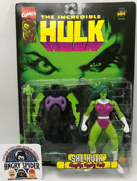 TAS040374 - 1996 Toy Biz Marvel Comics The Incredible Hulk - She Hulk
