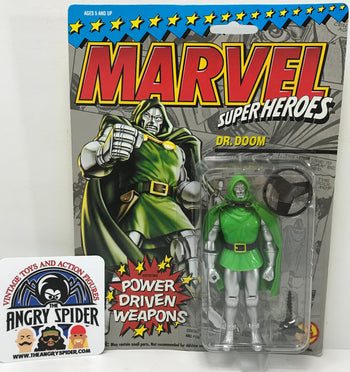 TAS040377 - 1993 Toy Biz Marvel Super Heroes Action Figure - Dr. Doom