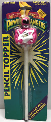 TAS038171 - 1993 Mighty Morphin Power Rangers Pencil Topper - Pink