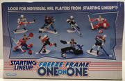 TAS038176 - 1998 Kenner Starting Lineup NHL Freeze Frame One on One Hockey Set