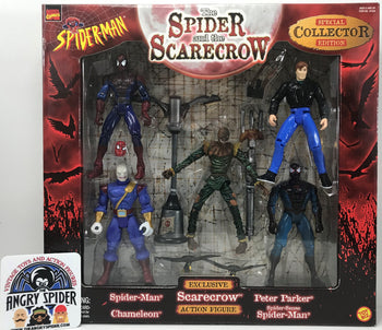 TAS040391 - 1998 Toy Biz Marvel Spider-Man The Spider And The Scarecrow