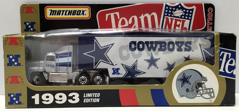 (TAS034877) - 1993 Matchbox Team NFL Football Die-Cast Semi-Truck Dallas Cowboy, , Trucks & Cars, Matchbox, The Angry Spider Vintage Toys & Collectibles Store  - 1