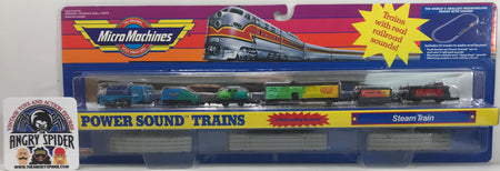 TAS040395 - 1990 Galoob Micro Machines Power Sound Trains Steam Train