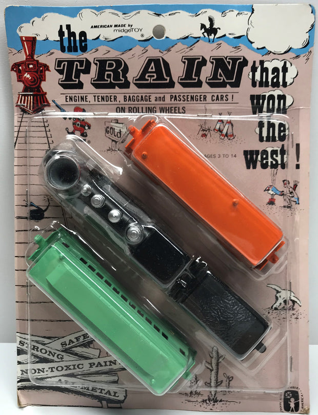 TAS038188 - MidgeToy Die-Cast The Train That Won The West Set