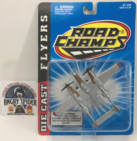 TAS040400 - Jakks Road Champs Die-Cast Flyers Plane
