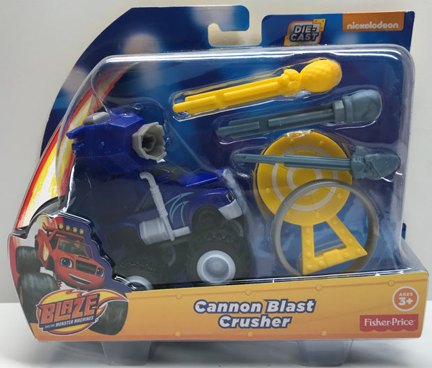 TAS038199 - 2015 Mattel Blaze And The Monster Machines - Cannon Blast Crusher