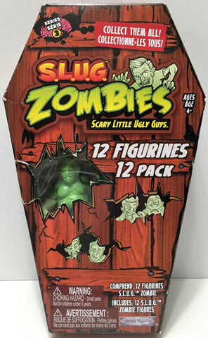 (TAS034919) - 2012 Jakks Pacific S.L.U.G. Zombies Series 3 - 12 Figurines Pack, , Action Figure, Jakks, The Angry Spider Vintage Toys & Collectibles Store  - 1