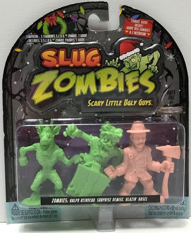 (TAS034915) - 2012 Jakks S.L.U.G. Zombies Series 3 - Ralph, Demise, Basel, , Action Figure, Jakks, The Angry Spider Vintage Toys & Collectibles Store  - 1
