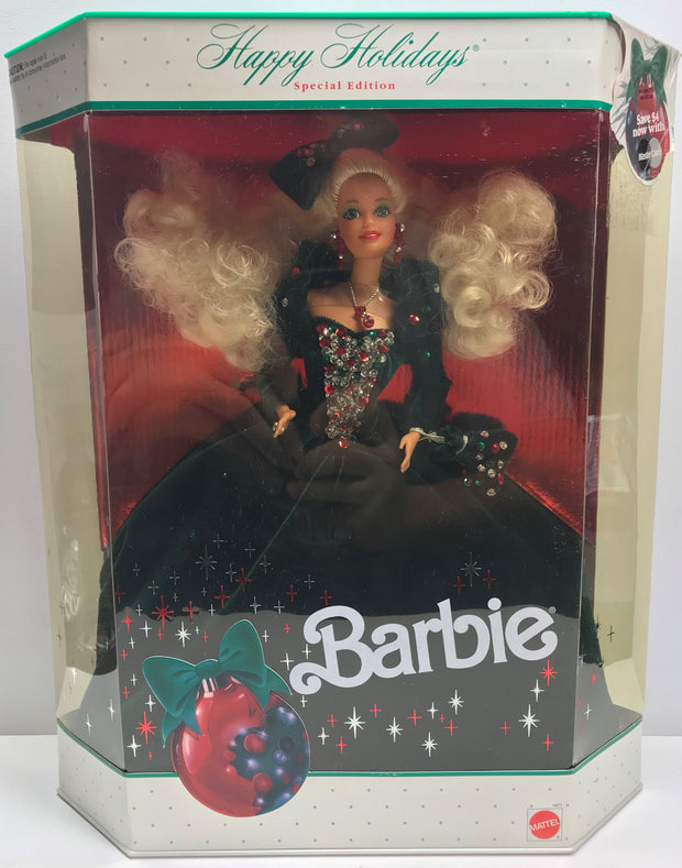 TAS038209 - 1991 Mattel Happy Holidays Special Edition Barbie
