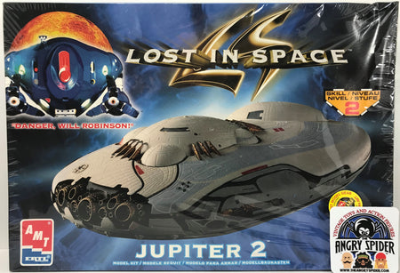 TAS040417 - 1998 ERTL AMT Lost In Space Jupiter 2 Model Kit