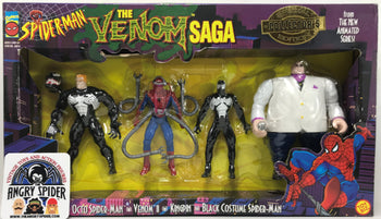 TAS040419 - 1996 Toy Biz Marvel Spider-Man The Venom Saga Collectors Set