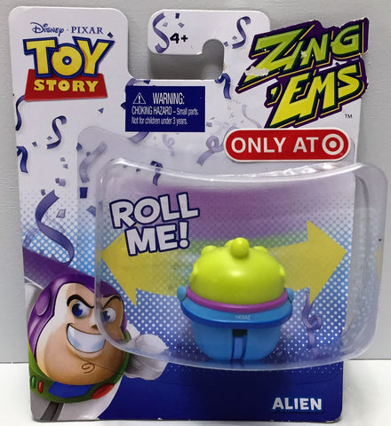 (TAS034921) - 2012 Mattel Disney Pixar Toy Story Zing 'Ems - Alien, , Action Figure, Disney, The Angry Spider Vintage Toys & Collectibles Store  - 1