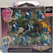 TAS038225 - 2015 Hasbro My Little Pony Wonderbolts Cloudsdale Mini Collection