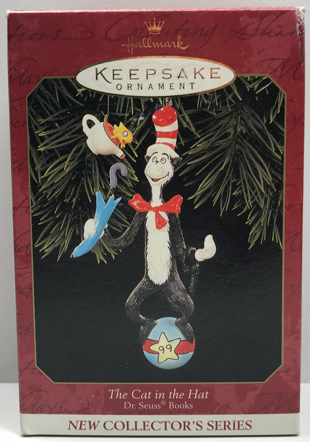 TAS038234 - 1999 Hallmark Keepsake Christmas Ornament The Cat In The Hat